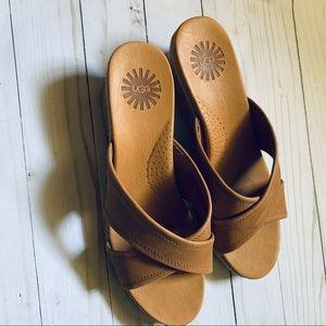 Ugg espadrille wedge sandals